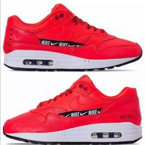 Women's Nike Air Max 1 SE Bright Crimson sz7